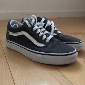 Vans Old Skool Grey Sneaker size 7.5
